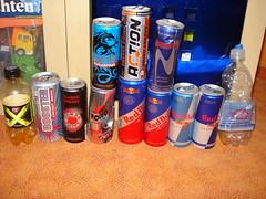 Energy Drink Dosen Sammlung