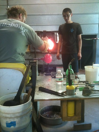 Glassblowing @ Southern Fried Glass