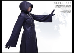 Custom Cosplay Commissions by orgXIIIorg : Kingdom Hearts Organization XIII coat (in real leather)