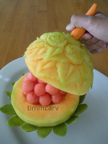 Melon Container