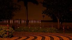 is learning.. (bavan.prashant) Tags: india lake reflection rain night focus raw infinity 28mm saturday ap slowshutter hyderabad andhra chill f28 pradesh parkhotel hussainsagar