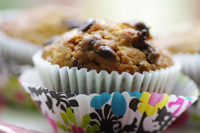 Chocolate Chips & Orange Muffins