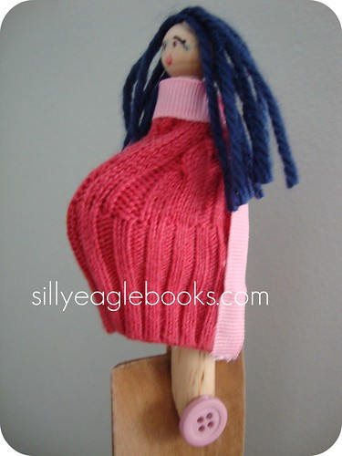 mommy doll side view