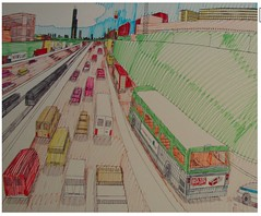 wesley-willis-dan-ryan-looking-toward-51st-2002-1 (danxoneil) Tags: wesleywillis