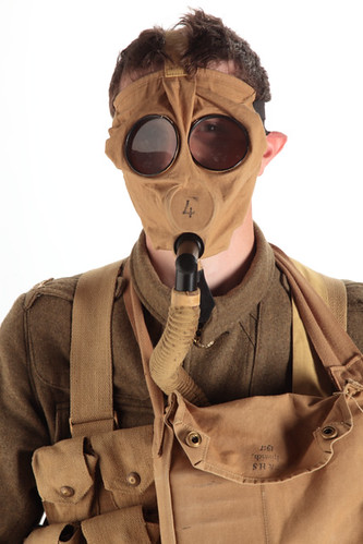 First World War Gas Mask. First World War Scottish