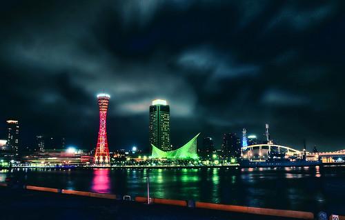 Kobe night view 07/HDR