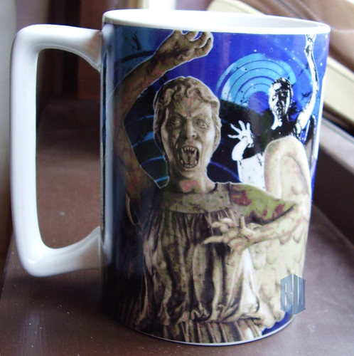 Weeping Angels & Dalek Mug