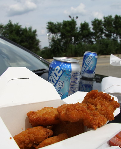 Calumet Fisheries - fried fish