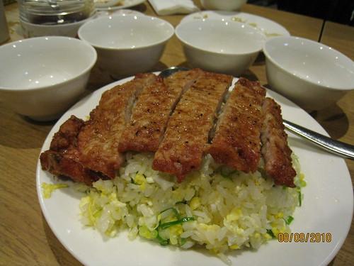 新竹鼎泰豐_炸豬排炒飯