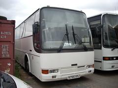 White bus got Soul (quicksilver coaches) Tags: souls cunningham algarve sb caetano daf olney k795vpj