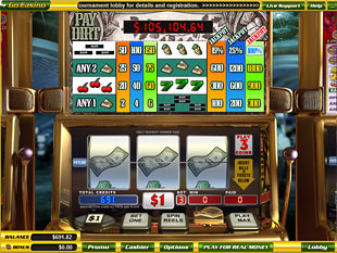 Pay Dirt Slots slot game online review