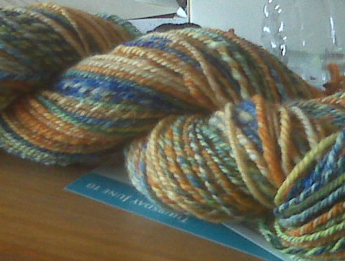 Lisa Souza's umbria plied
