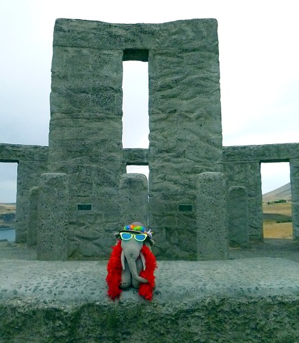 Ms Ella at the American Stonehenge