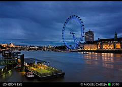 LONDON EYE (Miguel_CD) Tags: london thames londoneye londres bluehour tmesis