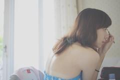 [フリー画像] 人物, 女性, アジア女性, 横顔, 201009112100