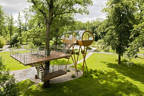 home office tree house