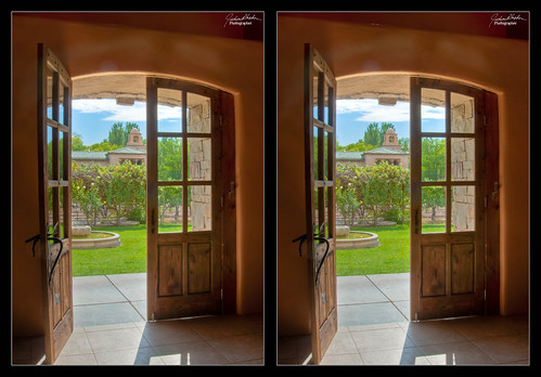 Casa Rondena Winery Doors in HDR and 3D & Flickriver: Photoset \u00273D (Stereo) Images\u0027 by JudsonR
