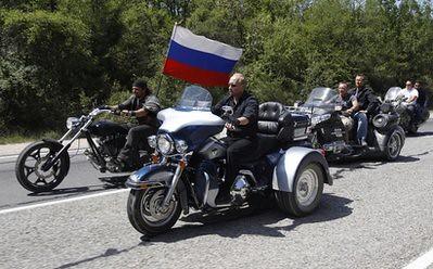 Ukraine Putin The Biker