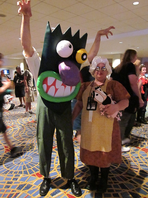 Courage the Cowardly Dog at DragonCon 2010