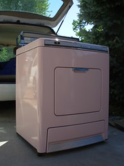 1959 Lady Kenmore dryer after cleaning 01