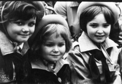 When I was 4 (Dora Korz- 21 Mpix Photography) Tags: old bw childhood children poland parade communism scouts warsaw may1st