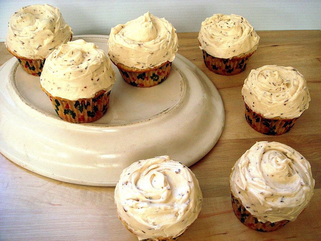 Coconut Rooibos Cupcakes