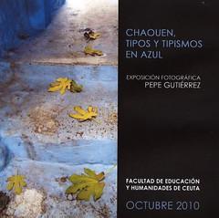 CHAOUEN, TIPOS Y TIPISMOS EN AZUL ... en Ceuta