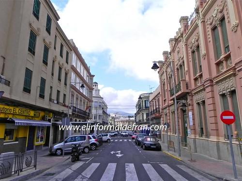 Calle Miguel de Cervantes Melilla