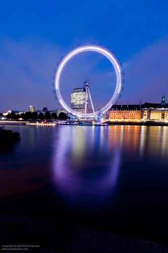 London Eye - 30s f/22