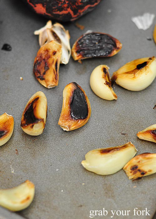 caramelised garlic