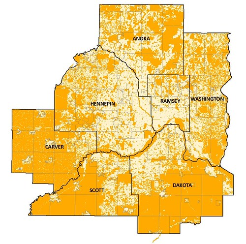 areas not likely eligible in orange (by: Brendon Slotterback, netdensity)