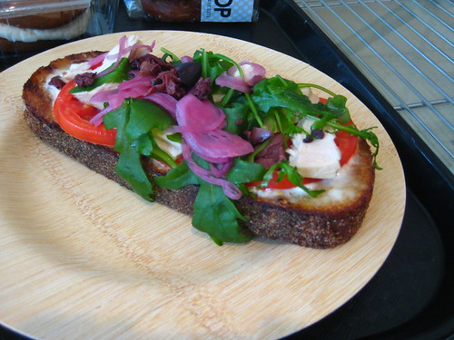 Michael White's Open Faced Tuna Sandwich