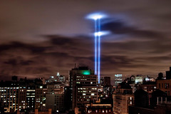 9/11 Tribute in Light (A. Strakey) Tags: nyc newyorkcity manhattan 911 twintowers gothamist gotham groundzero lowermanhattan curbed tributeinlight september11th newyorkny thebigapple september11thmemorial tributeoflight 911tributelights 9thanniversaryof911