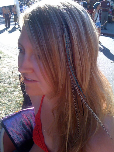 Feather Hair Extensions Sf