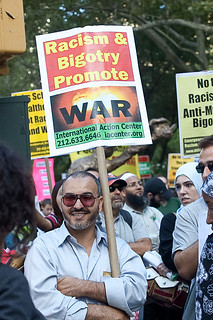 From flickr.com/photos/52536880@N02/4987576696/: Racism and Bigotry Promote War and Hate