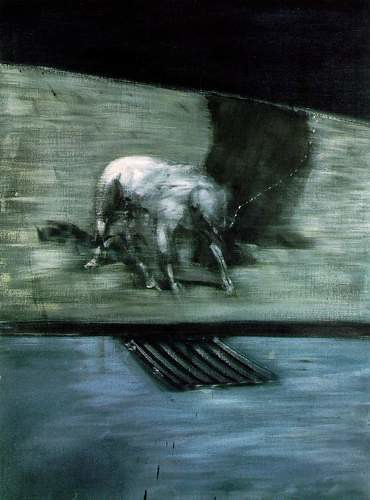 Man With Dog - Francis Bacon