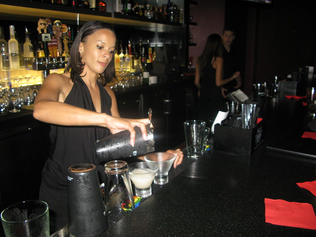Bartender at Xino by Caroline on Crack
