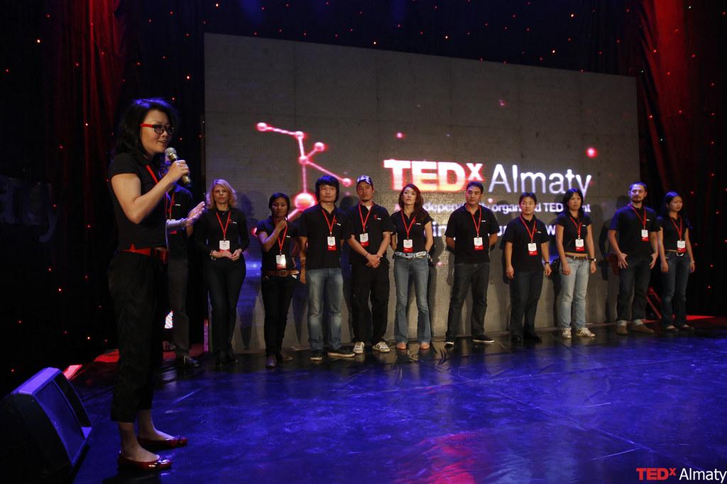 команда TEDxALmaty