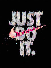 JUST DO IT (Kliment*) Tags: art fashion typography design do graphic tshirt it nike just bulgaria type typo tee justdoit typographic kliment