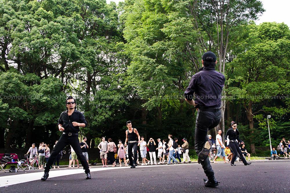 Elvis Dancer at Yoyogi Park @ Tokyo, Japan