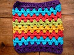 granny stripes (Lindevrouwsweb) Tags: crochet grannysquare haken vierkantjes