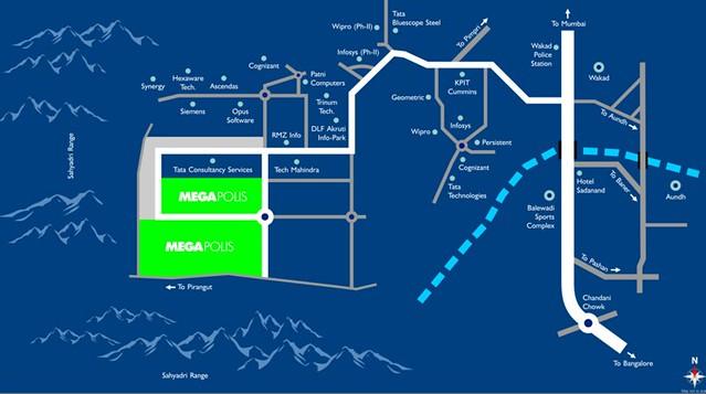 Megapolis Smart Homes 2 Location Plan