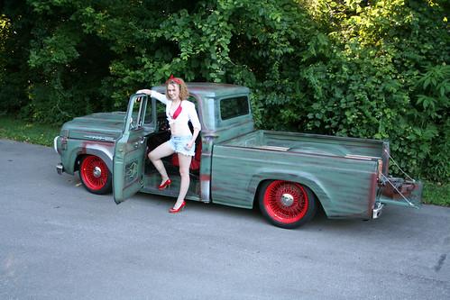 Truck Photo Shoot Sport Truck Photo Shoot 1959