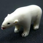 """<b>Bear</b><br/> Unknown, Eskimo American (ivory, ca. 1969) LFAC#2008:01:04<a href=""""http://farm5.static.flickr.com/4146/4996994736_b385bae98a_o.jpg"""" title=""""High res"""">∝</a>"""