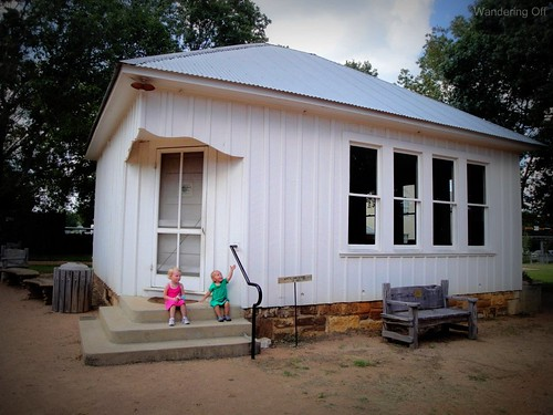 White Oak School. Fredericksburg, Texas