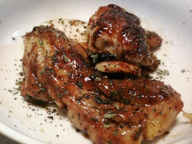 #jisui 鶏のハニーバルサミコ焼きを作ってみたよ!