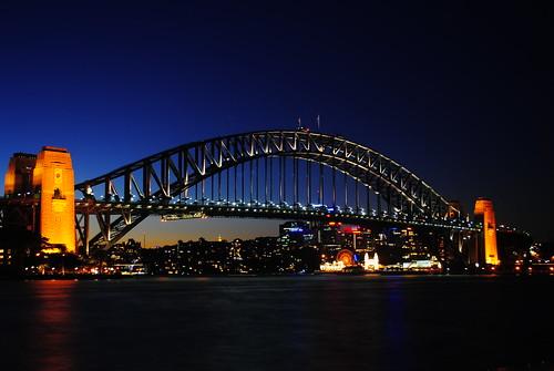 Sydney Harbour Bridge, taken from Circular Quay