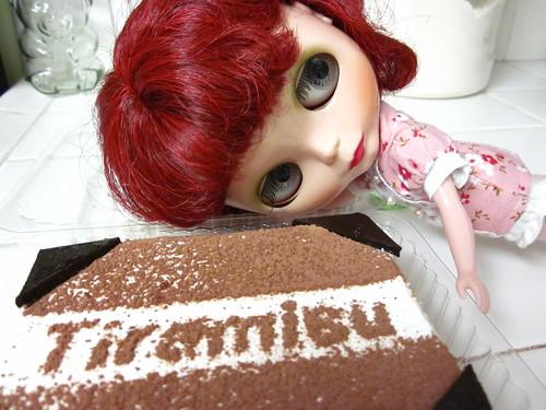 Yummy tiramisu!