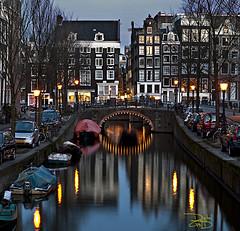 Amsterdam Canal (DiGitALGoLD) Tags: morning adam netherlands amsterdam early nikon long exposure tripod nikkor f28 gitzo d3 prinsengrachtcanal 2470mm singelcanal 2470 amsterdamcanal digitalgold herengrachtcanal keizersgrachtcanal