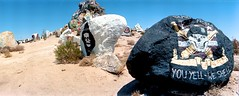 You Yell, We Shell. (Osher Gnsberg) Tags: military mojavedesert rockpile ftirwin horizons3 californiandesert blisteringheat